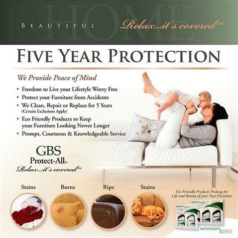 gbs furniture protection plan gbs warranty services