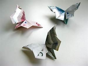 Geld Falten Blume Rose Anleitung : origami geldschein schmetterling video anleitung ~ Lizthompson.info Haus und Dekorationen