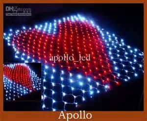 388 led net lights 2m 2m pulsatile mesh heart red white christmas string decoration fairy