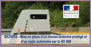 Itineraire Avec Radar : actualit s beziers mise en place d un nouvel itin raire prot g et d un radar autonome sur ~ Medecine-chirurgie-esthetiques.com Avis de Voitures