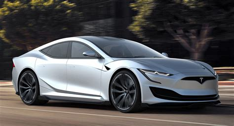 How's This For A Next-generation Tesla Model S?