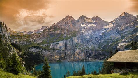 brown  gray white mountain  cloudy blue sky