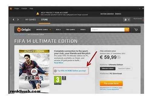 fifa 14 game origin free download