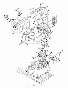 Mtd 13aqa1zt099  247 204420   T8200   2015  Parts Diagram For Dash  U0026 Fuel Tank