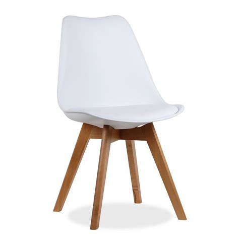 siege tulipe chaise moderne de design avec siège et dossier de