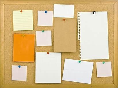 Board Cork Notice Bulletin Notes Memo Noticeboard