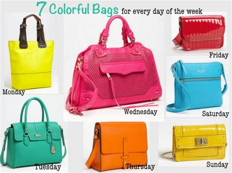 colorful handbags 7 colorful handbags savvy sassy