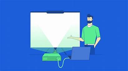 Animation Presentation Powerpoint Visual Learning Using Slides