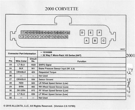 Corvette Wiring Diagram Auto Parts Catalog