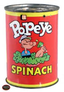 Image result for can of spinach