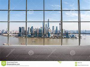 Shanghai View Of Window Outside Stock Image