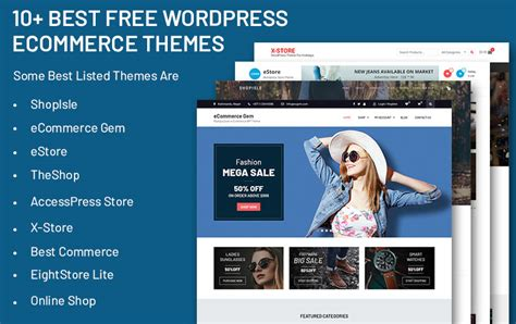 Best Free Themes 10 Best Free Ecommerce Themes Precious Themes