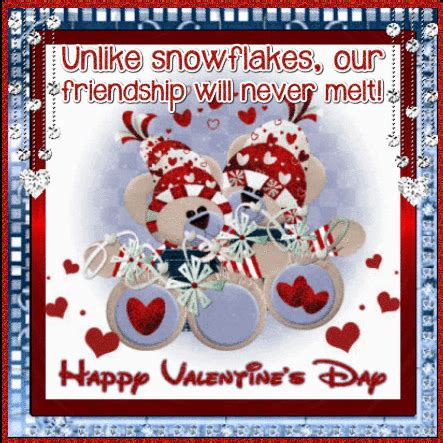 Valentine'S Day Snowflakes. Free Friends eCards, Greeting ...