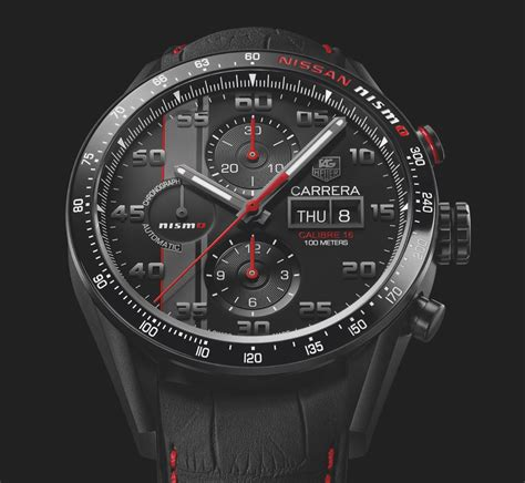 tag heuer carrera first look tag heuer carrera nismo edition the home of