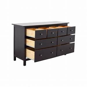 Ikea Hemnes Nachttisch : 28 off ikea ikea hemnes black dresser storage ~ Eleganceandgraceweddings.com Haus und Dekorationen