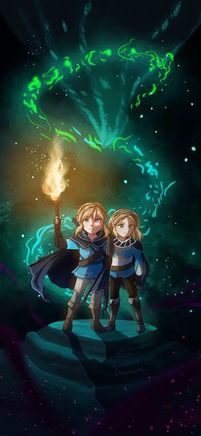 Botw Zelda Legend Phone Iphone Wallpapers Backgrounds