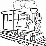 Coloring Train Toy Pages Trains Lbb Clipart Clip sketch template