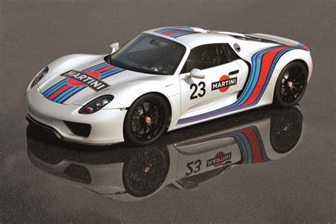 Porsche 918 Spyder To Get Martini Racing Livery Forcegt Com