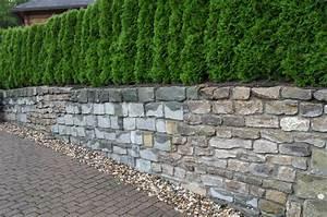 Sichtschutz Mauer Naturstein : mauern begrenzungen ~ Michelbontemps.com Haus und Dekorationen