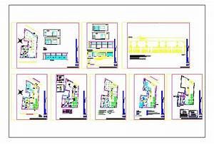 Cafeteria Project In Autocad