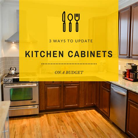 ways to update kitchen cabinets 3 budget friendly ways to update kitchen cabinets home 8927