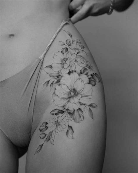 Intimate Flowers Tattoo   Best Tattoo Ideas Gallery