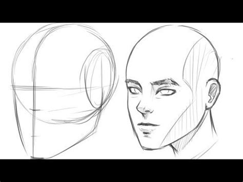 draw  face  beginners step  step  side