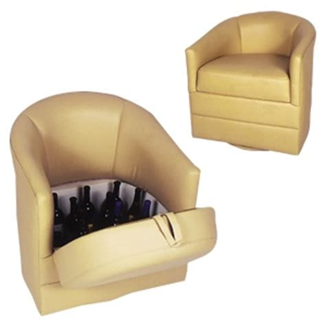 small swivel barrel chair with storage for the home