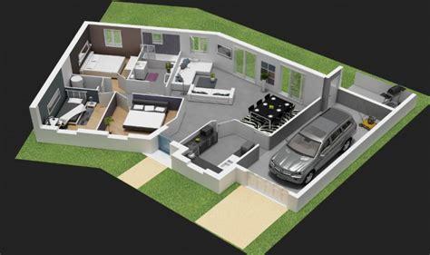 prix maison plain pied 4 chambres 5 plans pour construire votre propre maison