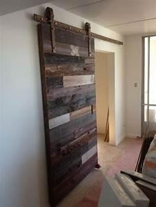 Puertas correderas con madera reciclada atumadera