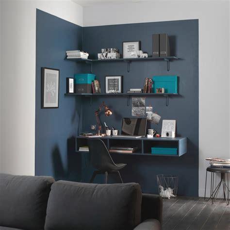 bureau bleu ikea bureau gain de place maison
