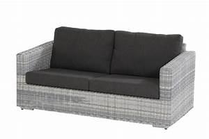 Rattan Sofa 2 Sitzer : polyrattan gartenbank edge ice sofa 2 5 sitzer geflecht ~ Whattoseeinmadrid.com Haus und Dekorationen