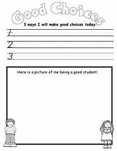 Making Good Choices Activity Sheets | Activity: Choices ...