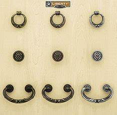 Liberty Kitchen Cabinet Hardware - French Lace II Collection