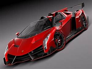 Red Lamborghini Veneno Wallpapers High Quality | Red ...