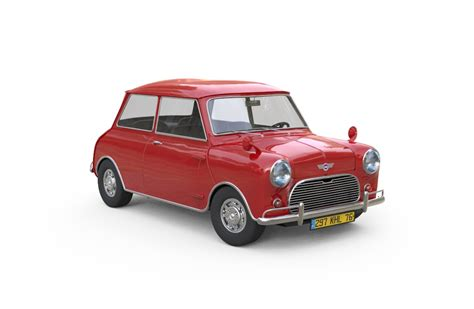 3d Classic Mini Model