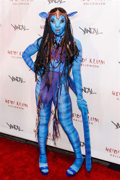 Broadway Cynthia Erivo Went Full Avatar For Heidi Klum