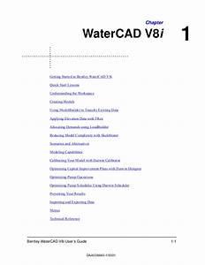Manual De Watercad V8i En Espaol Pdf