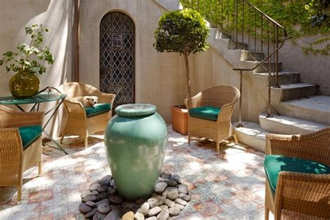 courtyard furniture decoration inspiration  creative