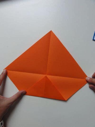 faltanleitung fisch mit kindern einen fisch aus papier