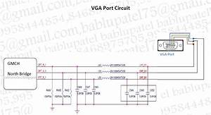Bablu Notes  Vga Port Circuit Diagram And Its Problem In