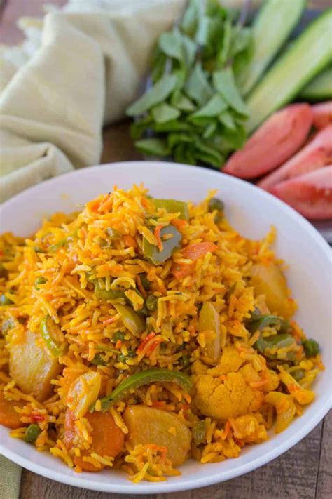 easy vegetable biryani dinner  dessert