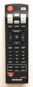Us New Remote Control Akb73575401 For Lg Sound Bar Nb5540a