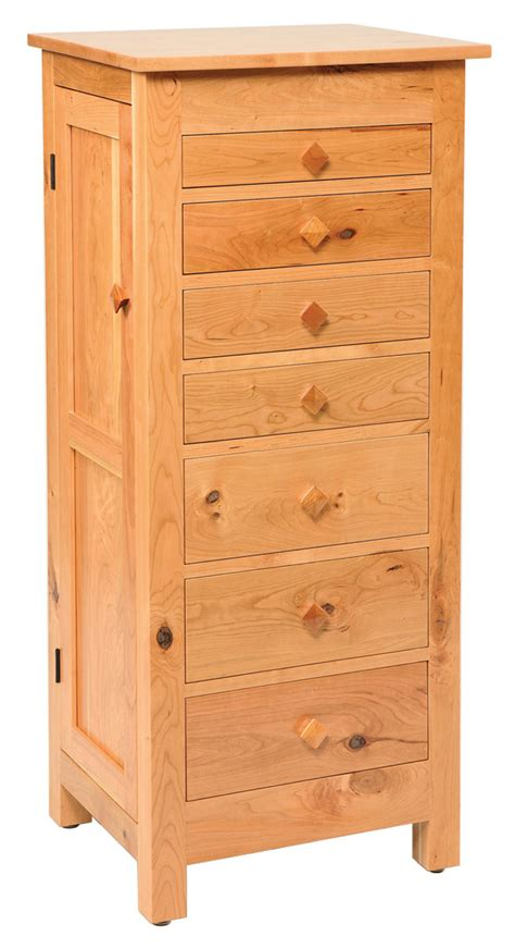 Mission Jewelry Armoire by Flush Mission Jewelry Armoire Rustic Cherry