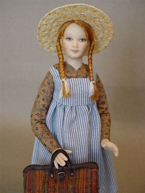 Anne Of Green Gables Porcelain Dollhouse Doll Dollhouse