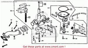 Honda Atc110 1985  F  Usa Carburetor 84-85