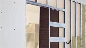 porte coulissante encastrable dans cloison les portes coulissantes lf ambiances et d 233 co