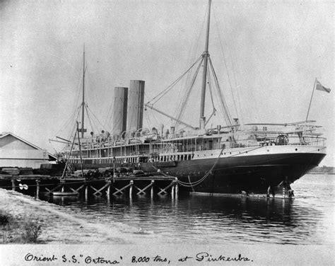 filestatelibqld   orient steamship  ortona