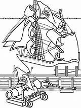 Pirate Ship Coloring Boys Ausmalbilder Template Sketch Malvorlagen Ausdrucken Kostenlos Zum sketch template
