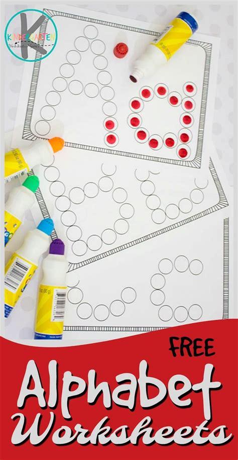 abc worksheets ideas  pinterest preschool